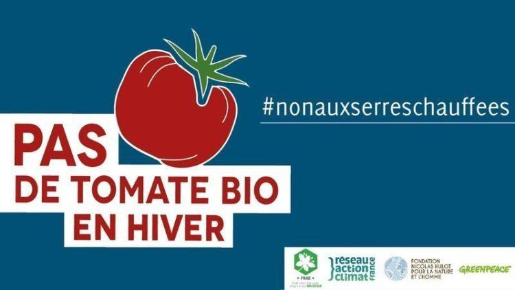 Pétition : pas de tomate bio en hiver, non aux serres chauffées !