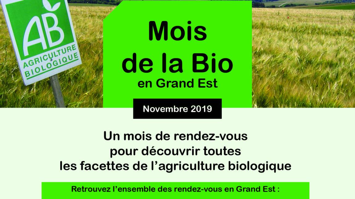 Mois de la Bio 2019