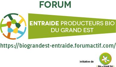 Forum d'entraide entre producteurs bio du Grand Est