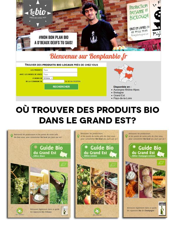 Où trouver des produits bio?