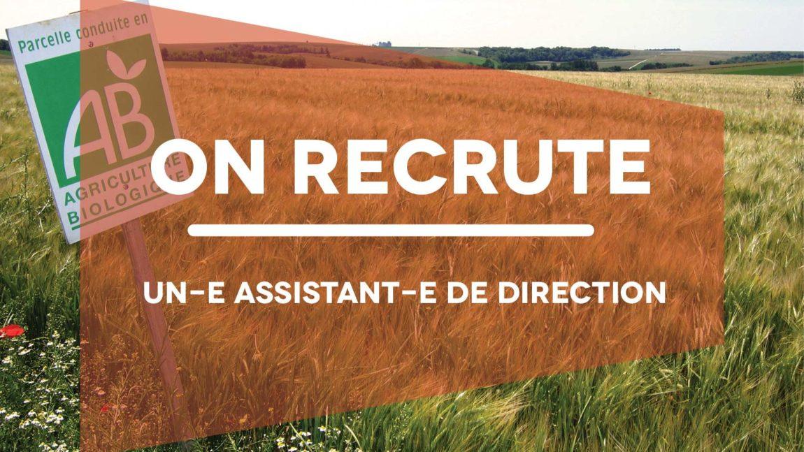 Recrutement : Assistant-e de direction