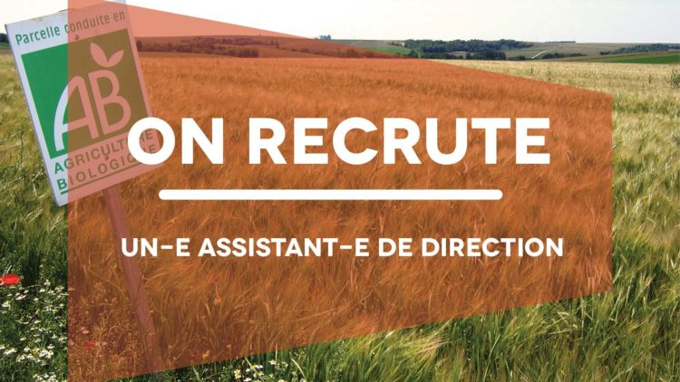 Recrutement : Assistant-e de direction