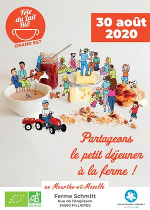 Fête du lait 2020 en Meurthe-et-Moselle
