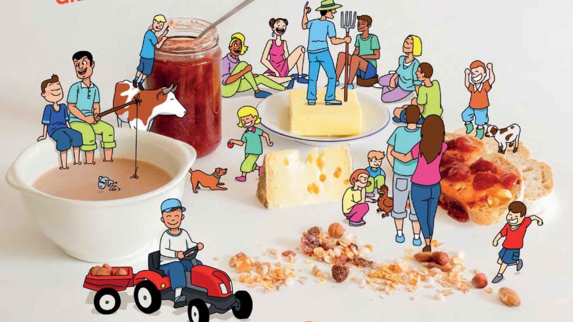 Fête du lait : venez prendre un petit déjeuner bio à la ferme