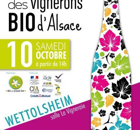 17è Rendez-vous des Vignerons Bio d'Alsace