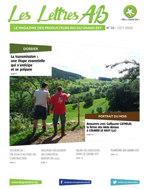 Lettres AB n°33 – Octobre 2020