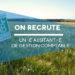 Recrutement : Assistant-e de gestion comptable