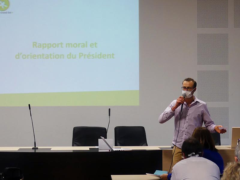 Rapport d'orientation du Président – AG 06 octobre 2020