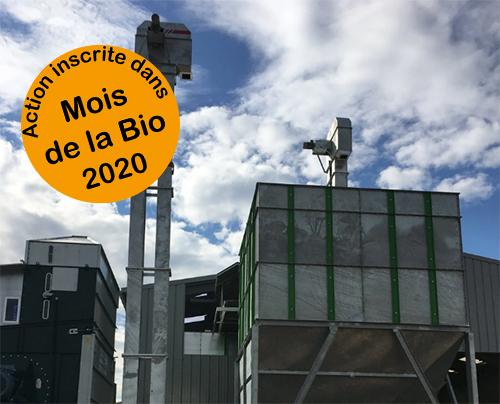 [Reportée] Visite de la plateforme Biotopes : Unité de collecte, nettoyage, séchage, triage, stockage, décorticage et conditionnements de graines biologiques