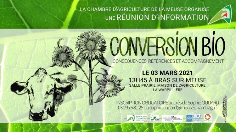 Réunion d'information sur la Conversion Bio