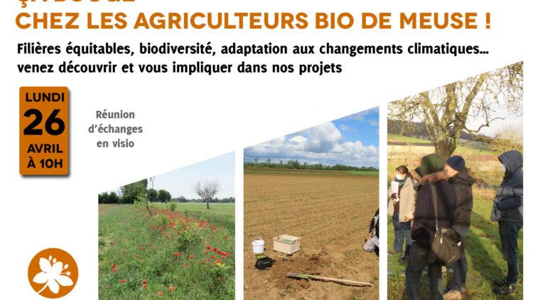 VISIO : Ca bouge chez les agriculteurs bio de Meuse