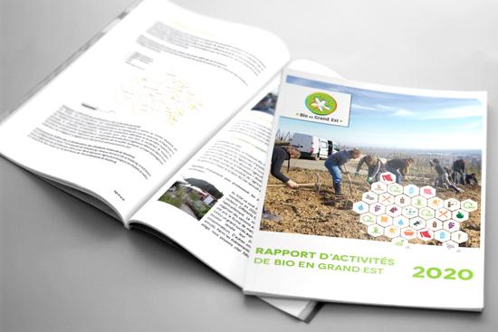 Le rapport d'activités 2020 de Bio en Grand Est vient de paraître