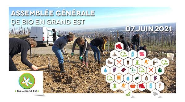 Assemblée Générale de Bio en Grand Est 2021
