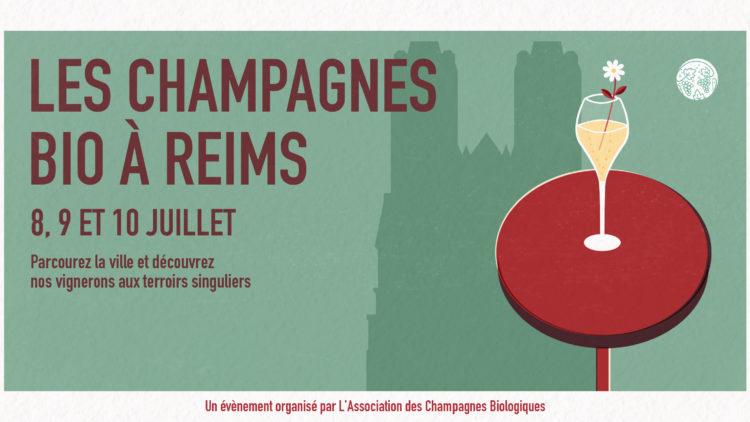 Les Champagnes Bio à Reims