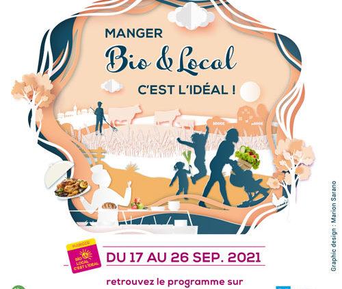 Semaine MANGER BIO ET LOCAL, c'est l'Idéal! dans les Vosges
