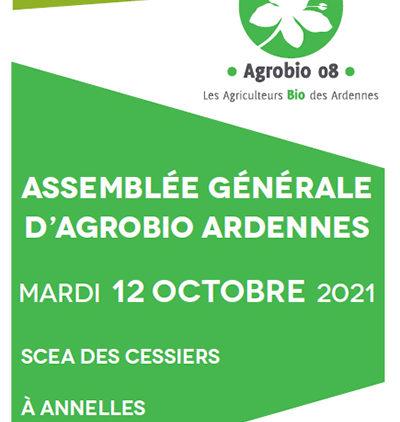 Assemblée Générale d'Agrobio Ardennes